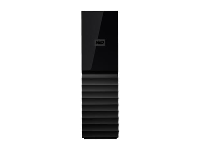 WD My Book 10TB Desktop External Hard Drive for Windows/Mac/Laptop, USB 3.0 Black (WDBBGB0100HBK-NESN)