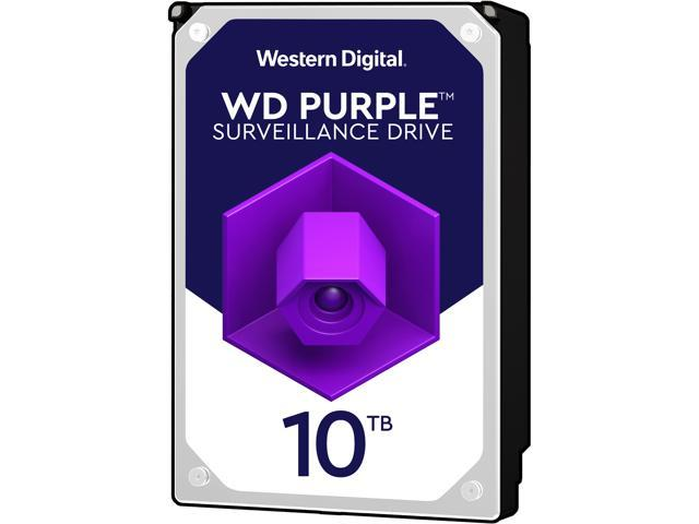 WD Purple WD101PURZ 10TB 7200 RPM 256MB Cache SATA 6.0Gb/s 3.5