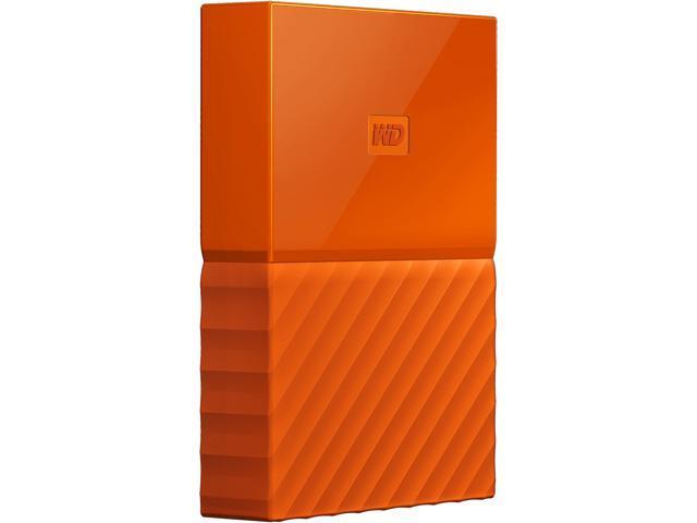 WD 4TB My Passport Portable Hard Drive USB 3 0 Model WDBYFT0040BOR-WESN  Orange - Newegg com