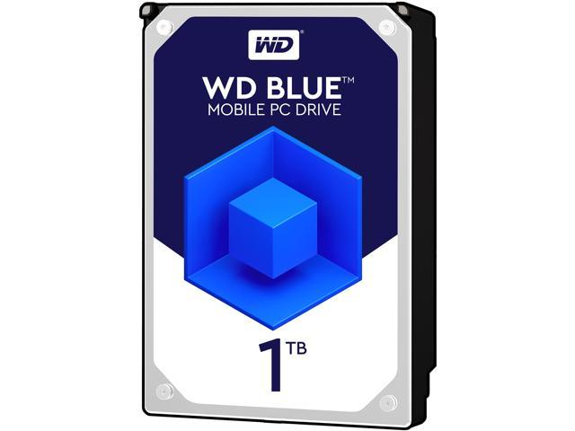 WD Blue 1TB Mobile 9.50mm Hard Disk Drive - 5400 RPM SATA 6Gb/s 2.5 Inch - WD10JPVX