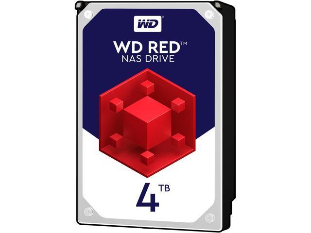Western Digital. WD Red 4TB NAS Hard Disk Drive - 5400 RPM Class SATA 6Gb/s 64MB
