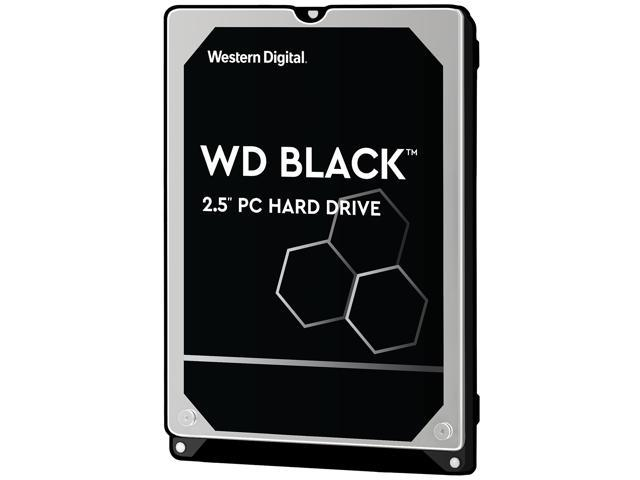WD Black 500GB Performance Laptop Hard Disk Drive - 7200 RPM SATA 6Gb/s  32MB Cache 2 5