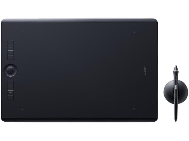 Wacom Intuos Pro Large (PTH-860/K0-C) USB and Bluetooth Creative Pen Tablet  with Wacom Pro Pen 2 - Newegg com
