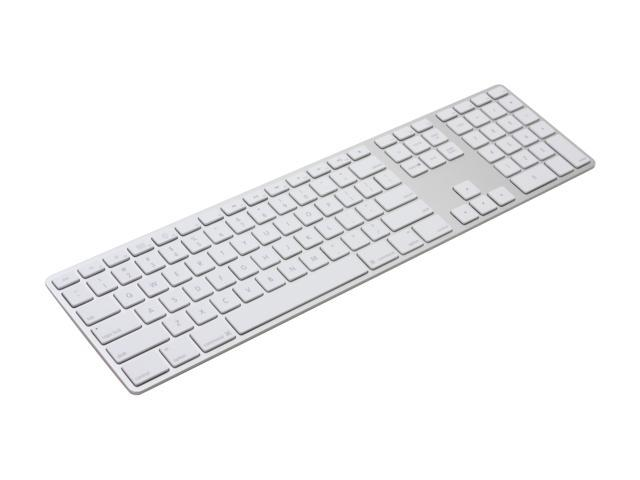 apple mb110ll a white usb wired slim keyboard with numeric keypad. Black Bedroom Furniture Sets. Home Design Ideas