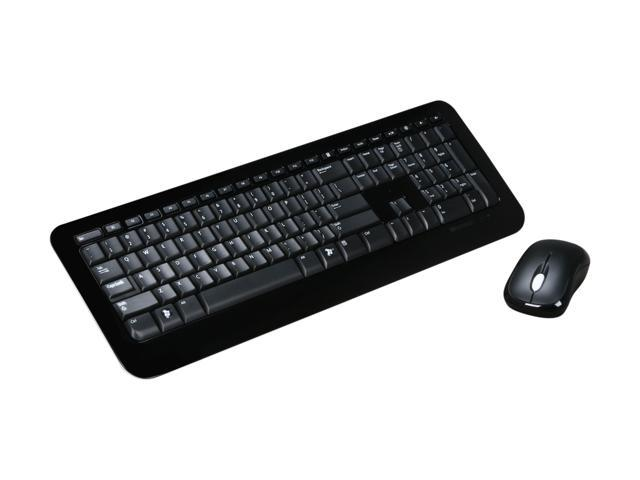 58085b05c85 Microsoft Desktop 800 2LF-00001 Black USB RF Wireless Keyboard & Mouse