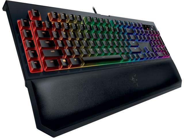 Razer Blackwidow Chroma V2 – RGB Mechanical Gaming Keyboard – Green Switch  - Newegg com
