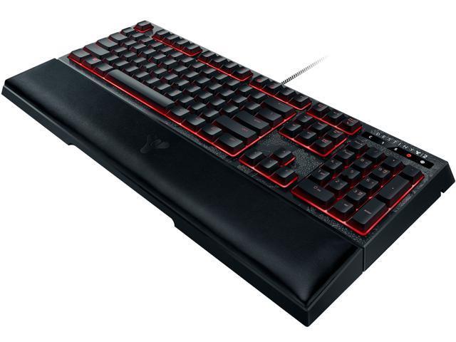 c12c8287e3c Razer Ornata Chroma Destiny 2 Edition - Revolutionary Mecha-Membrane RGB  Ergonomic Gaming Keyboard - Mid-Height Keycaps - Wrist Rest