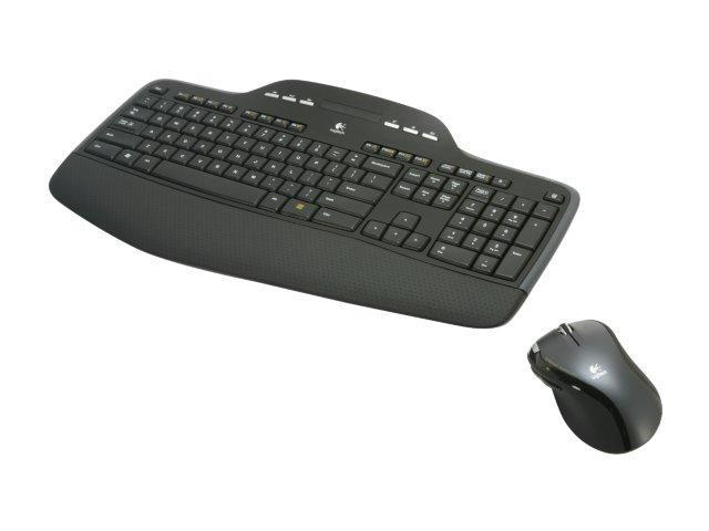 db2b591e8ec Logitech MK700 Black 2.4 GHz Wireless Desktop - Newegg.com