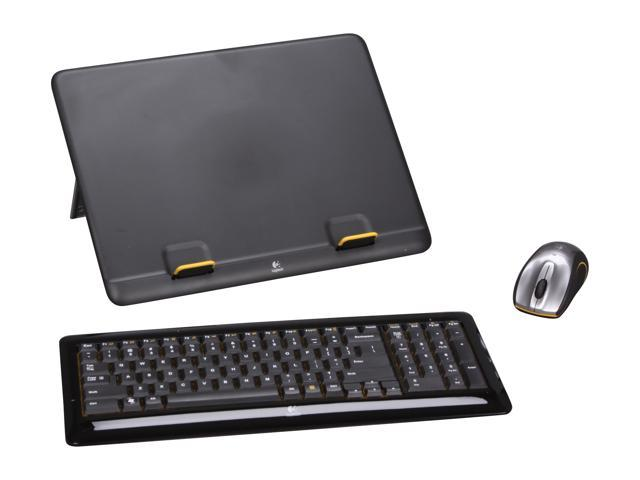 d4e3eb267a6 Logitech MK605 Notebook Kit - K340 Wireless Keyboard, M505 Wireless Mouse  and N110 Notebook Riser