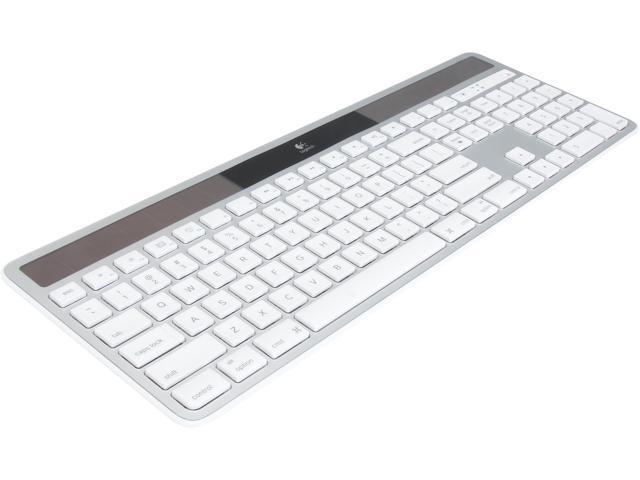 3bfcab6bce3 Logitech Recertified 920-003677 Wireless Solar Keyboard K750 - Silver