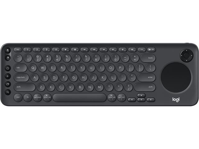 5b40ee1b1c9 Logitech K600 TV - TV Keyboard with Integrated Touchpad and D-Pad - 920-