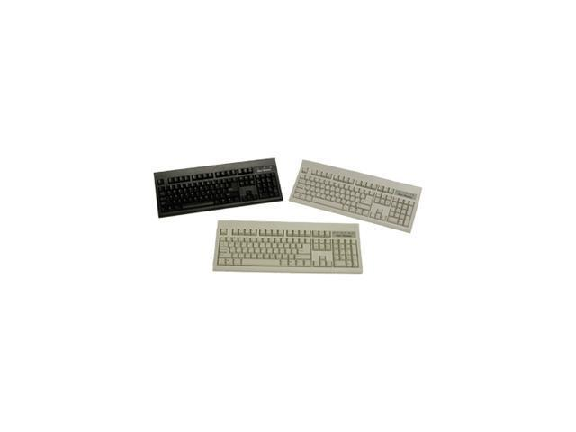 KeyTronic KT800P210PK Black 104 Normal Keys PS/2 Wired Standard ...