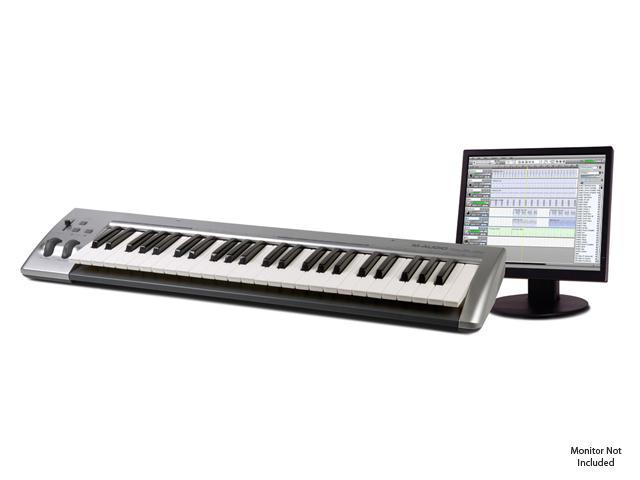 M-AUDIO 49-Note USB MIDI controller and recording software - Newegg com