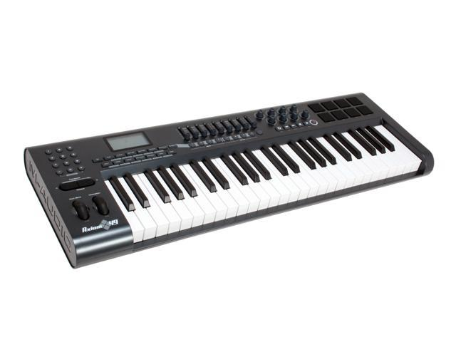 m audio advanced 49 key semi weighted usb midi controller. Black Bedroom Furniture Sets. Home Design Ideas