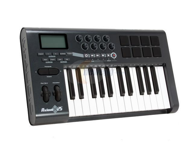 m audio advanced 25 key semi weighted usb midi controller. Black Bedroom Furniture Sets. Home Design Ideas