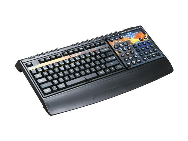 9985d98d447 SteelSeries Zboard Limited Edition StarCraft II gaming keyboard - Newegg.com
