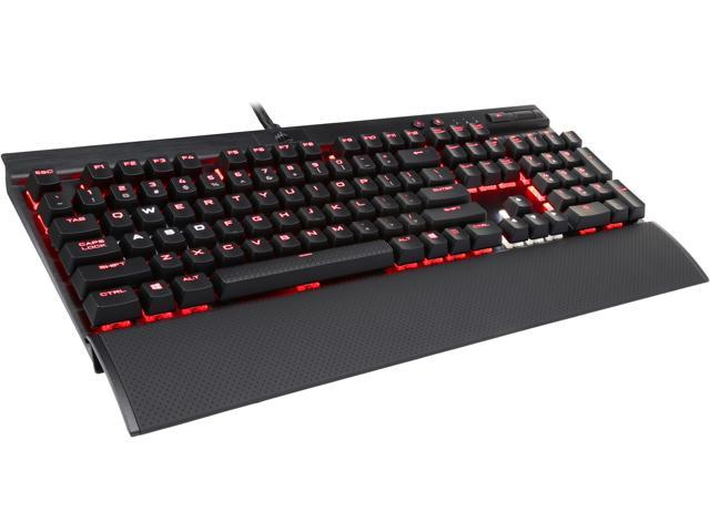 Corsair Certified CH-9101012-NA Gaming K70 LUX RGB Mechanical Keyboard, Backlit RGB LED, Cherry MX Brown