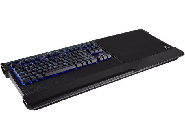 bd81fd4c89e Corsair K63 Wireless Mechanical Keyboard & Gaming Lapboard Combo, Backlit  Blue LED, Cherry MX