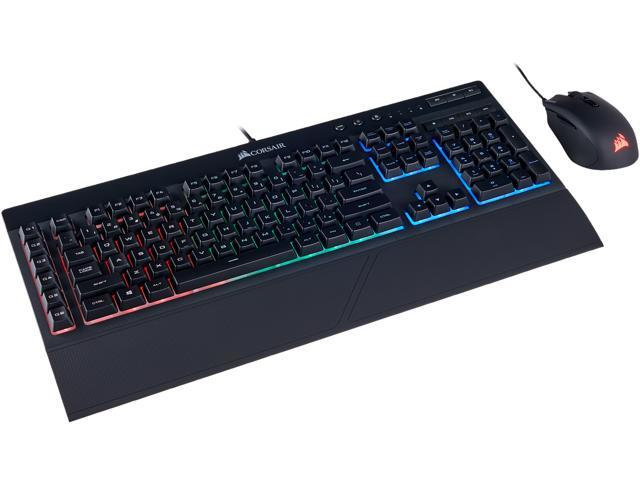 0a5e094d20f Corsair Gaming K55 + HARPOON RGB Gaming Keyboard and Mouse Combo