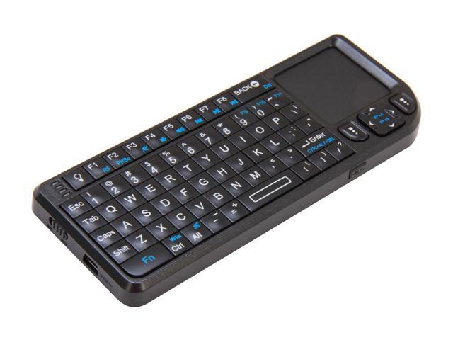 ddd35523f96 VisionTek Candyboard 900319 Black USB RF Wireless Mini Keyboard