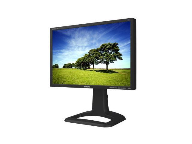 "SAMSUNG 244t-BK 24"" WUXGA 1920 x 1200 6 ms D-Sub, DVI-D, S-Video, CVBS, Component LCD Monitor with Height & Pivot Adjustments"