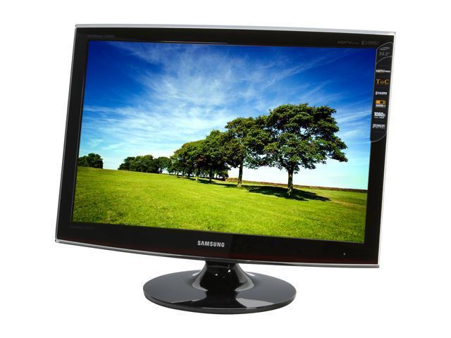 samsung toc t260hd rose black 25 5 5ms hdmi widescreen hdtv monitor rh newegg com Remote Control Samsung T260HD Samsung User Guide