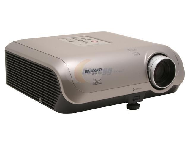 sharp xr 10x dlp projector newegg com rh newegg com sharp xr-10s lamp reset sharp xr-10x manual