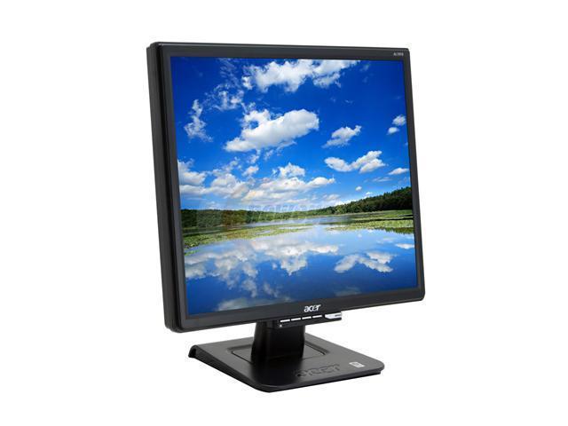 acer al1916 cbd black 19 5ms lcd monitor 300 cd m2 700 1 newegg com rh newegg com acer al1916 service manual Acer AL1916 Specs