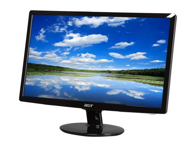 acer s201hlbd black 20 5ms led backlight lcd monitor 250 cd m2 acm rh newegg com Acer S201HL Manual Acer S201HL Driver