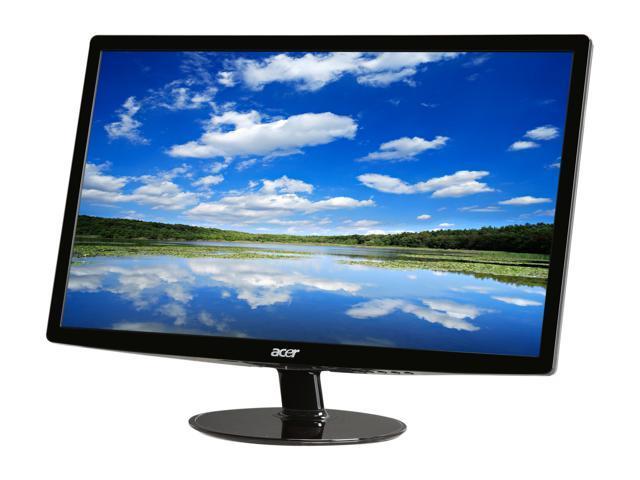 acer s232hlabid black 23 5ms full hd hdmi led backlight lcd monitor rh newegg com Acer S232HL Mount Acer S230HL
