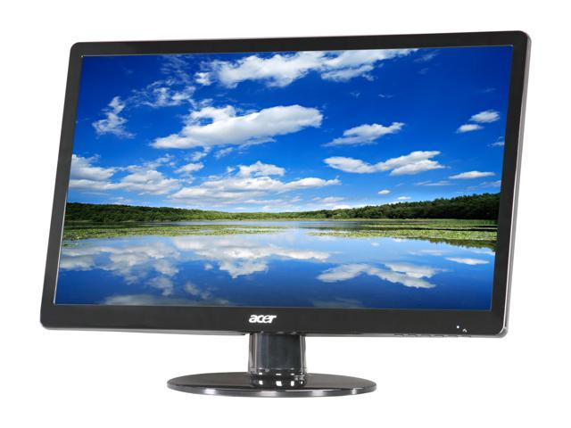 "Acer S0 Series S220HQL ET.WS0HP.A01 21.5"" Full HD 1920 x 1080 5 ms 60 Hz D-Sub, DVI LCD Monitor"