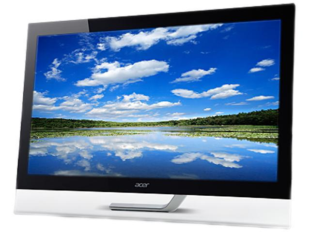 "Acer T232HL Abmjjz 23"" Touchscreen Widescreen LED IPS Monitor with Built-in Speakers - Certified Refurbished Manufacturer Recertified"