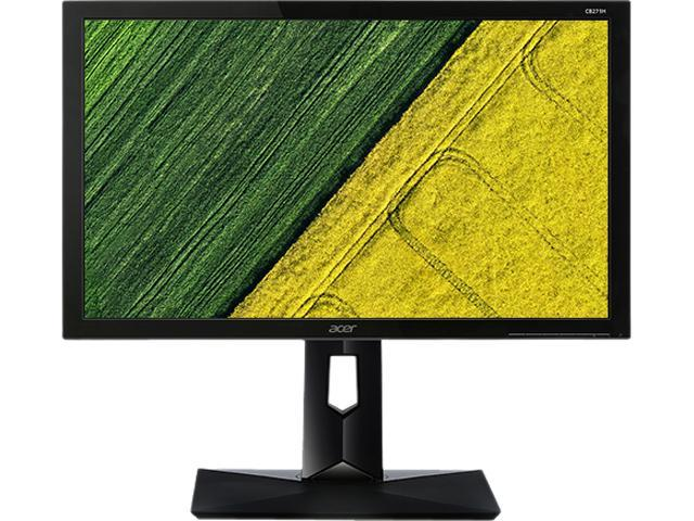 "Acer B7 Series CB271H Abmidr (UM.QB7AA.001) Black 23.8"" 4ms (GTG) HDMI Widescreen LED Backlight LCD/LED Monitor"