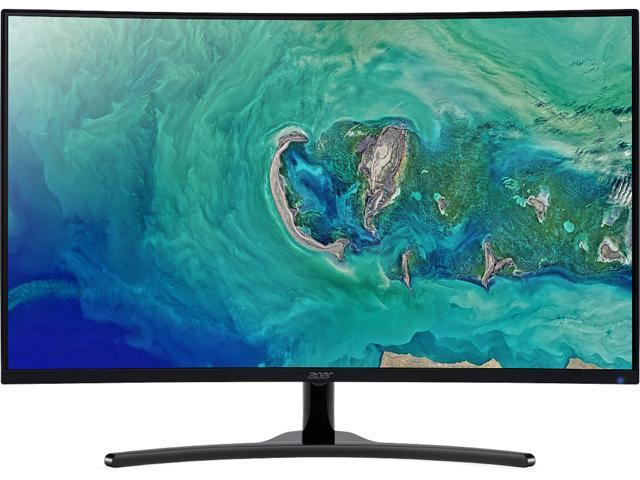 "Acer ED322QR Pbmiipx UM.JE2AA.P01 32"" (Actual size 31.5"") Full HD 1920 x 1080 4ms (GTG) 144 Hz HDMI, DisplayPort Built-in Speakers Curved Gaming Monitor"