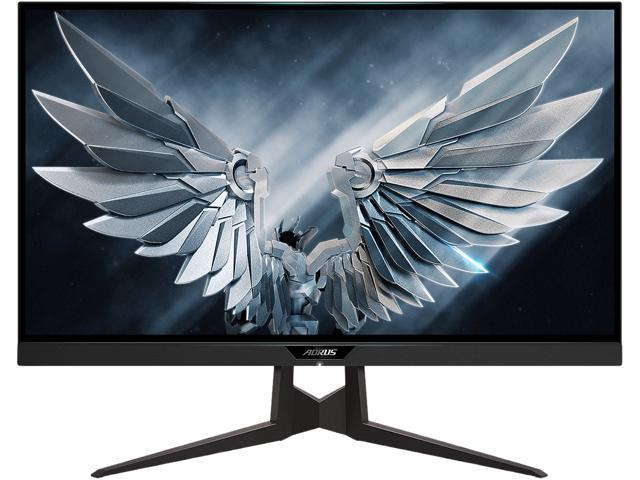 "AORUS FI27Q-P 27"" Frameless Gaming Monitor, QHD 1440p, 95% DCI-P3 Color Accurate IPS Panel, 1ms 165Hz, HDR, G-SYNC ..."