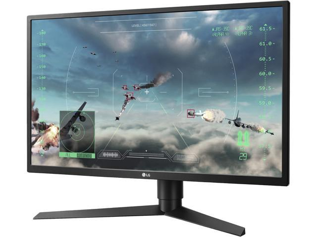 "LG 27GK750F-B 27"" TN G-Sync Compatible 2ms 240Hz Adaptive Sync 400 cd/m2 Gaming Monitor with HDMI 2.0 DisplayPort 1.2"