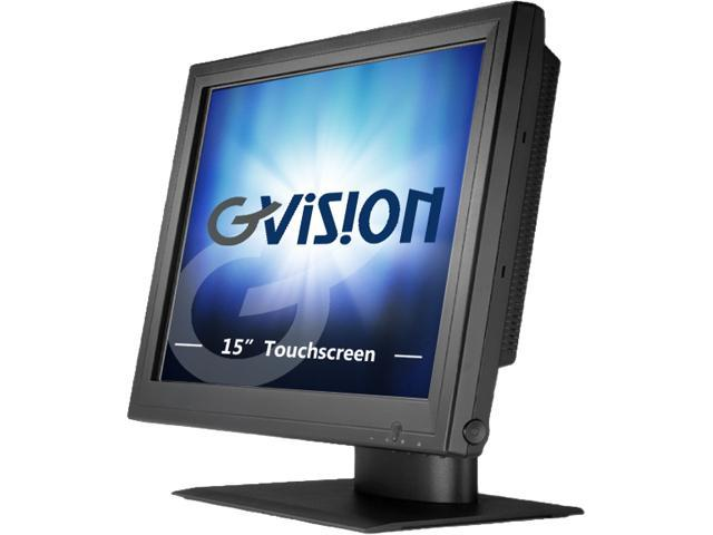 GVision P15BX-AB459G 15-inch 5-Wire Resistive POS Touch Screen Monitor