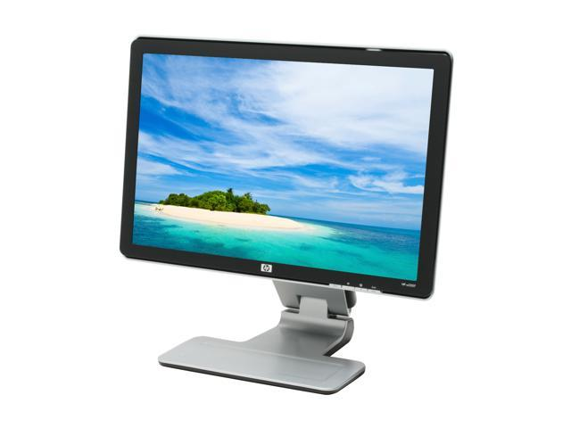 hp w2207 black silver 22 5ms widescreen lcd monitor 300 cd m2 1 000 rh newegg com hp w2207 monitor user manual HP W2207 Monitor Repair