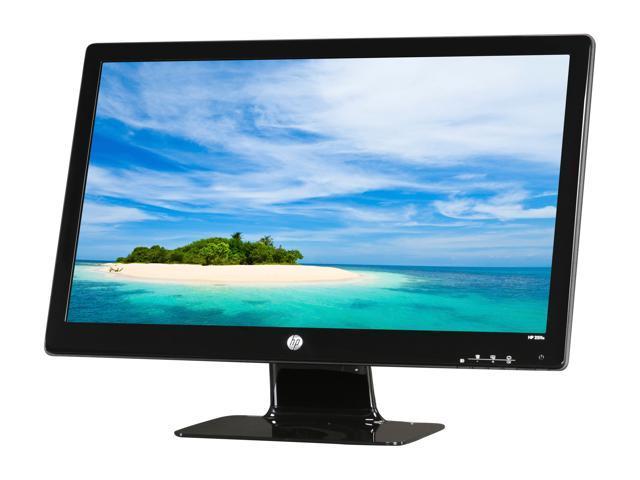 hp 2511x black 25 5ms full hd led backlight lcd monitor slim design rh newegg com HP 2511X Monitor HP 2511X at Staples