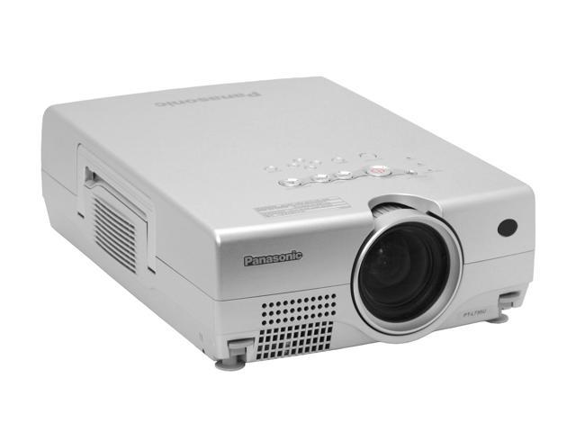 panasonic pt l735u lcd projector newegg com rh newegg com
