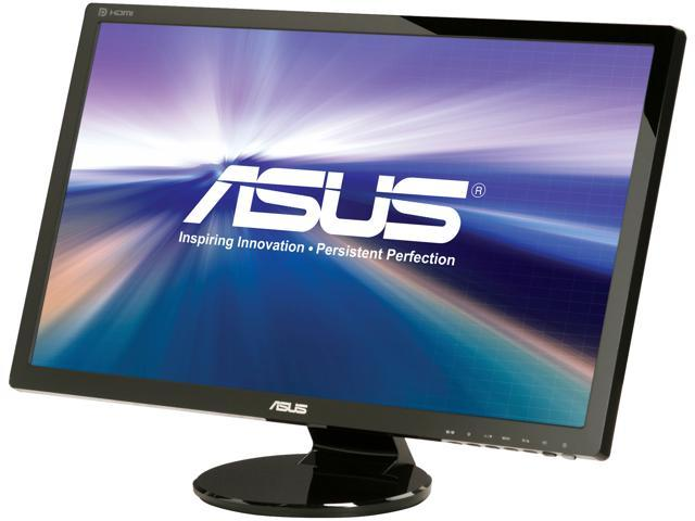 "ASUS VE278Q 27"" Full HD 1920x1080 2ms HDMI VGA DisplayPort DVI-D Built-in Speakers HDMI LED Backlight LCD Monitor"