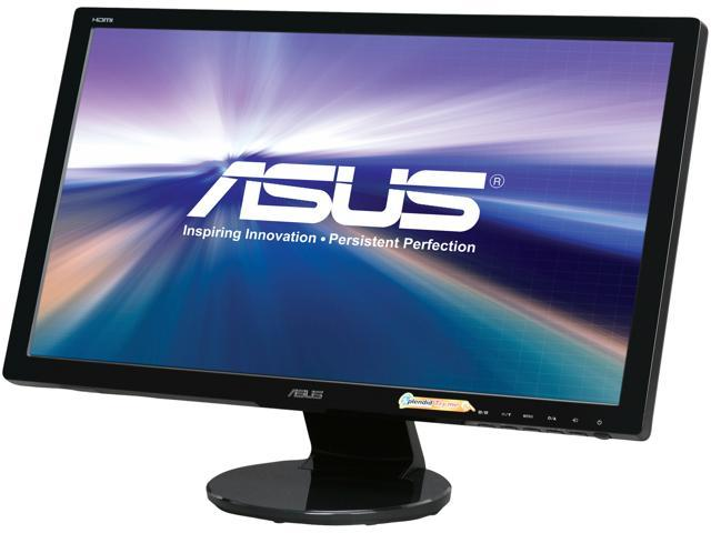 "ASUS VE247H 24"" (Actual size 23.6"") Full HD 1920 x 1080 2ms (GTG) VGA DVI-D HDMI Built-in Speakers LED Backlit LCD Monitor"