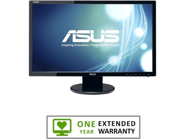 refurbished asus ve247h black 23 6 2ms gtg hdmi widescreen led rh newegg com Asus VE247H Port Asus VE247H Port