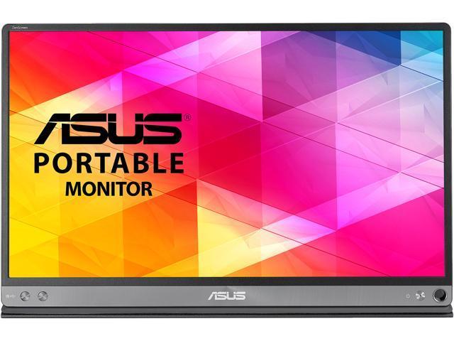 229.99 - ASUS ZenScreen MB16AC Dark Gray 15.6 5ms Widescreen LED Backlight Monitor