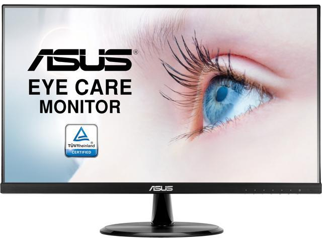 "ASUS VP249HE 24"" (Actual size 23.8"") Full HD 1920 x 1080 Up to 75Hz 5ms (GTG) HDMI VGA Asus Eye Care with Ultra Low Blue-Light ..."