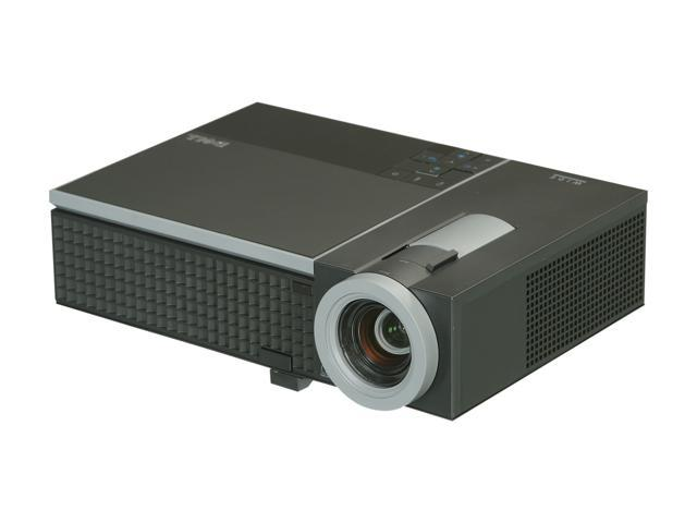 "Dell 1610HD 1280 x 800 WXGA 3500 ANSI Lumens, Easy setup and maintenance, Versatile connectivity, Up to 362"" diagonal projection, DLP Projector"