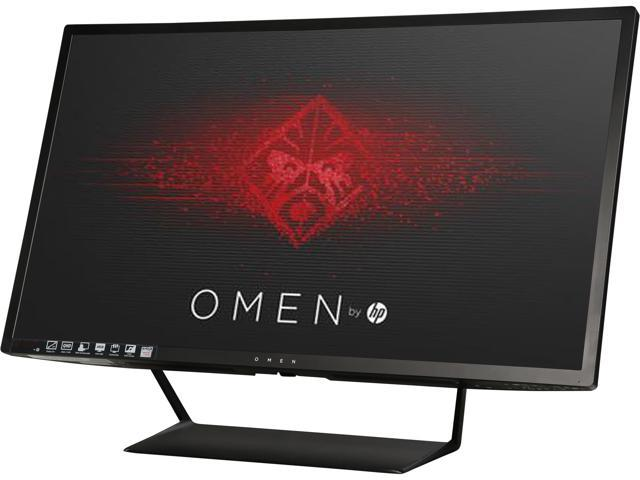 hp omen 32 u0026quot  75hz amd freesync 2560 x 1440 monitor  3000 1  300 cd  m u00b2  hdmi  displayport  tilt