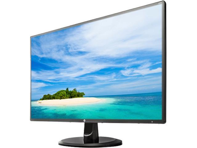 "HP V270 27"" Full HD 1920x1080 60Hz 5ms VGA HDMI DVI-D Anti-Glare HDCP Support WideScreen Backlit White LED IPS Monitor"