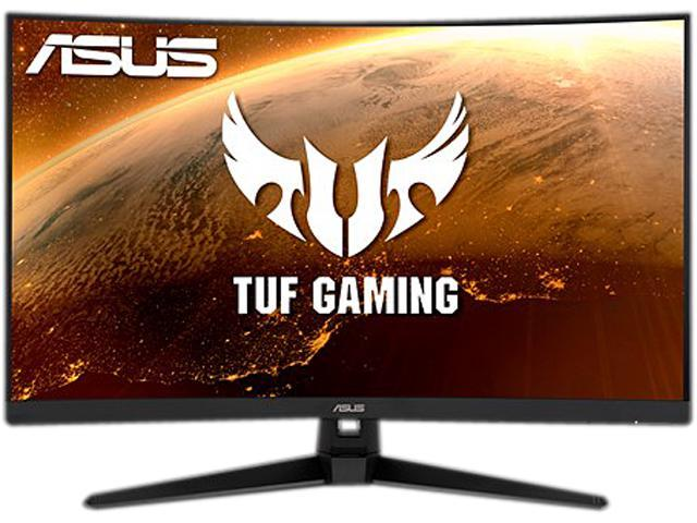 "ASUS TUF Gaming VG328H1B 32"" Full HD 1920 x 1080 165Hz (OC) 1ms (MPRT) HDMI VGA Extreme Low Motion Blur FreeSync Flicker-Free Built-in Speakers Backlit LED Curved Gaming Monitor"