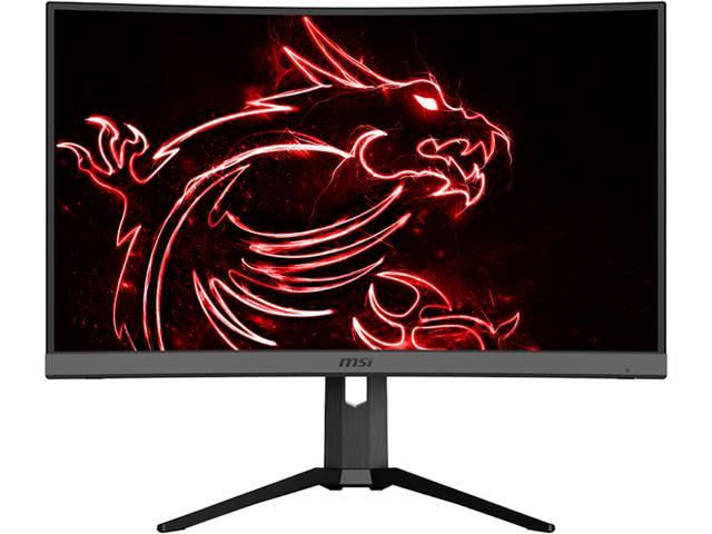 "MSI OPTIX MAG272CR 27"" Full HD 1920 x 1080 1 ms 165 Hz HDMI, DisplayPort, USB-C AMD FreeSync Curved Gaming Monitor"